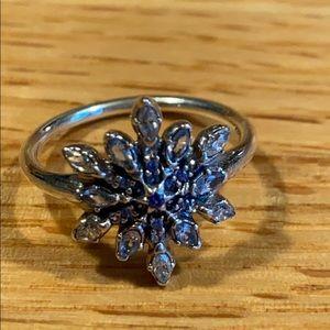 Beautiful Pandora snowflake ring